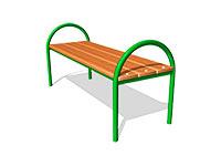 223)Скамейка парковая М1
