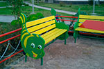 Фото 3 скамейки детской «Рыбка» эскиз