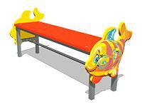 3503)Скамейка детская «Кит М1»