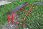 Фото 2 скамьи гимнастической с упором для ног эскиз