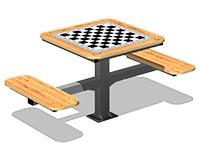 3556)Стол шахматный М1
