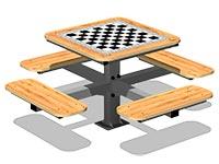 3557)Стол шахматный М2