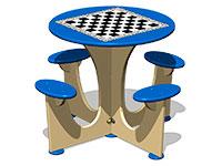 3559)Стол шахматный М4