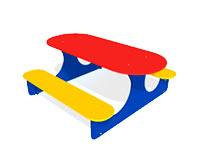 3292)Детский столик «Овальный»