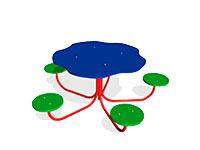 2345)Детский столик «Семицветик»