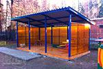Фото 1 теневого навеса для детского сада ТНПО 3.6, превью