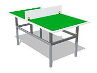 3359)Теннисный стол М3 (детский)