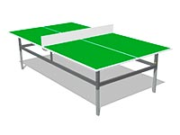 201)Теннисный стол М2