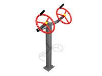3347)Тренажер уличный «Рули»