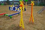 Фото 1 турника детского «Жираф», превью