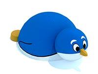 3439)Уличная резиновая фигура «Пингвинчик»