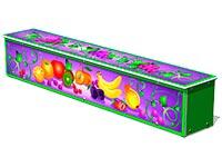 3690)Ящик-скамья для теневых навесов «Фрукты»