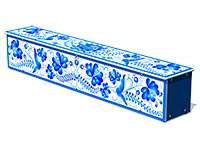3688)Ящик-скамья для теневых навесов «Гжель»