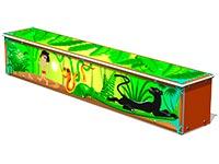 3689)Ящик-скамья для теневых навесов «Маугли»