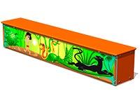 3697)Ящик-скамья для теневых навесов «Маугли М1»