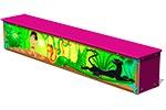 Ящик-скамья для теневых навесов «Маугли М1» в сиреневом исполнении, превью