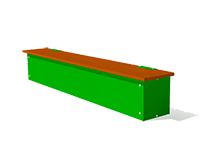 294)Ящик-скамья для теневых навесов