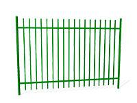 Забор металлический ОЗ-31 эскиз