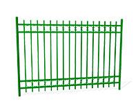 Забор металлический ОЗ-32 эскиз