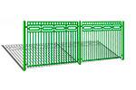 Забор металлический ОЗ-4, общий вид, превью