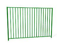 Забор металлический ОЗ-8 эскиз