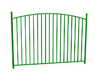 Забор металлический ОЗ-9 эскиз
