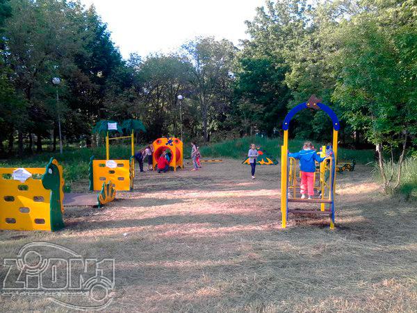 Общий вид детской площадки