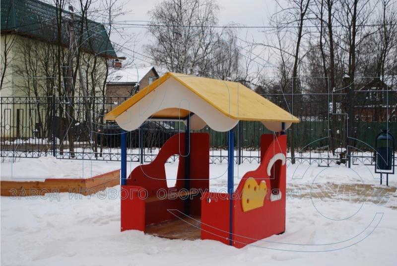 Детский домик «Гном» на игровой площадке