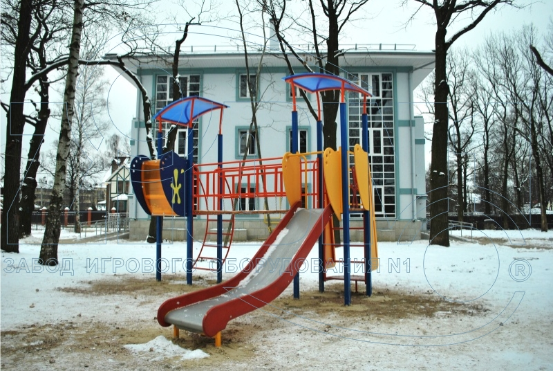 Детский комплекс «Мечта» на площадке в Лианозово