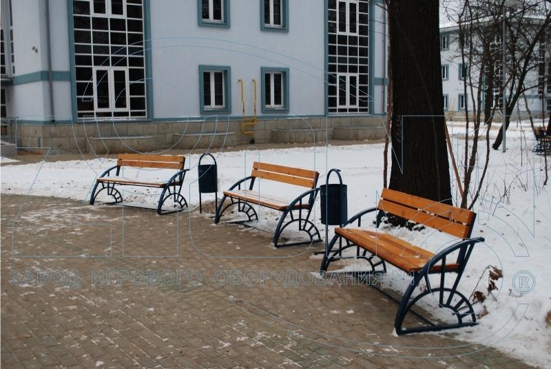Скамьи парковые ДП-14 в Лианозово
