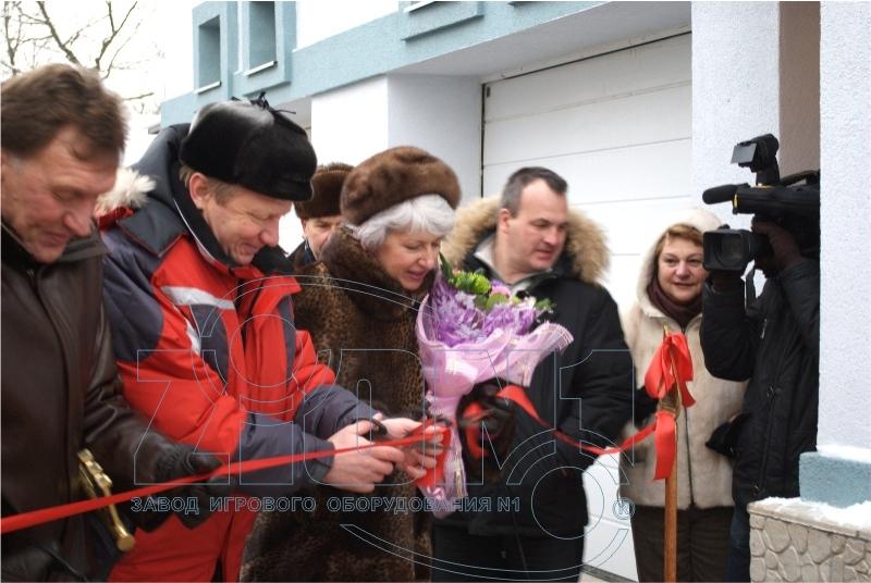 Торжественное открытие объекта в Лианозово