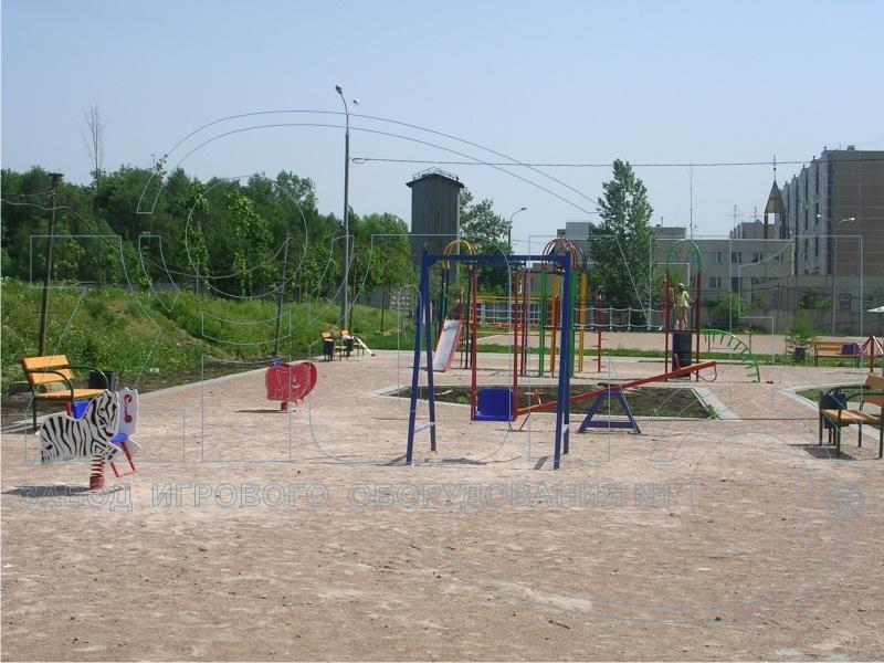 Фото 1 детской площадки Зеленоград 2007 год