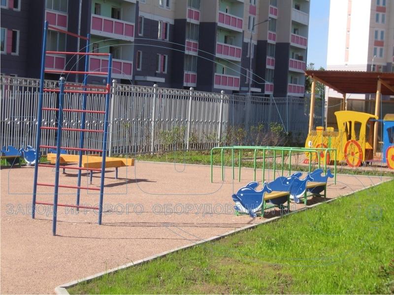 Фото 2 детской площадки Зеленоград 2007 год