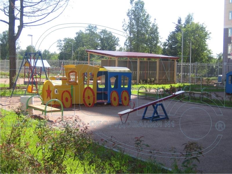Фото 3 детской площадки Зеленоград 2007 год