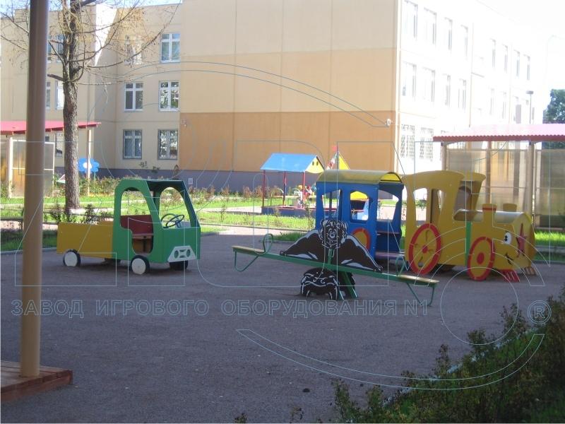 Фото 4 детской площадки Зеленоград 2007 год