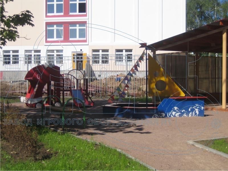 Фото 5 детской площадки Зеленоград 2007 год