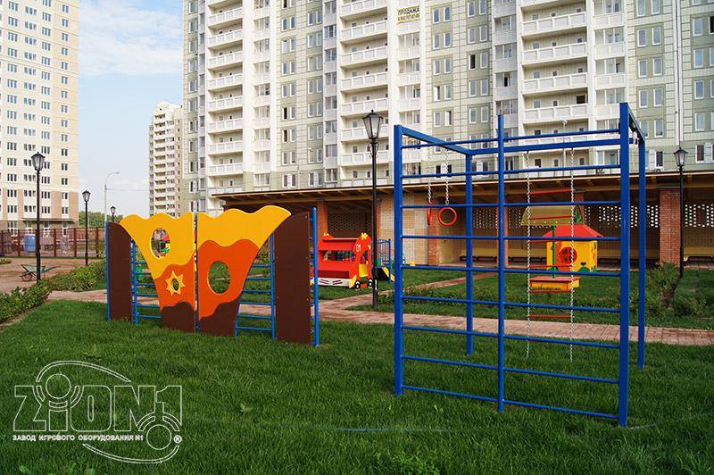 Фото спортивной площадки детского сада