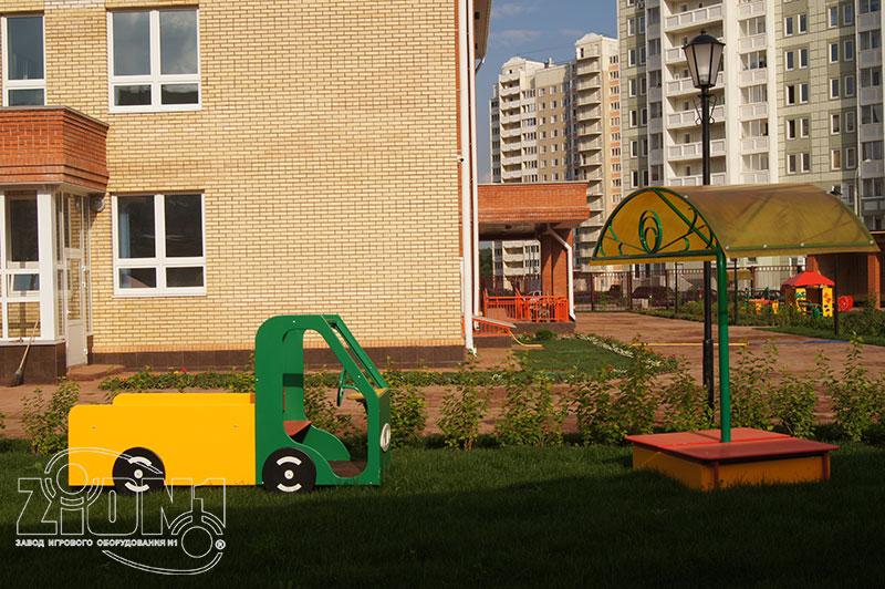 Фото МАФ детской площадки д/с Кузнечик