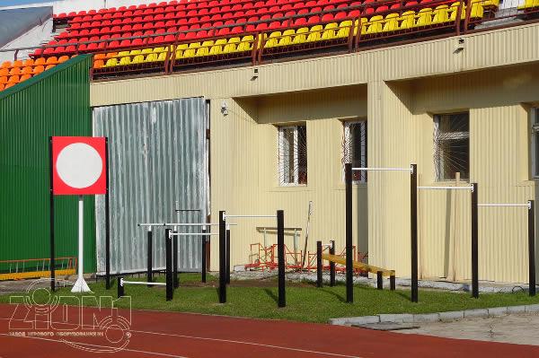 Площадка ГТО г.Владимир стадион «Торпедо» левый край