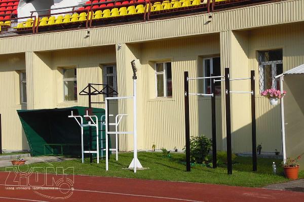 Площадка ГТО г.Владимир стадион «Торпедо» левый центр