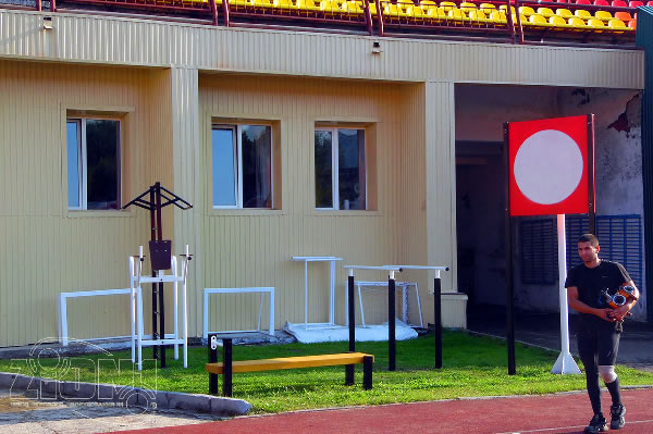 Площадка ГТО г.Владимир стадион «Торпедо» правый край