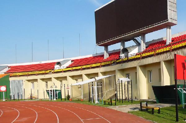 Общий вид площадки ГТО, стадион «Торпедо», г.Владимир