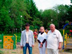 Детская площадка в г.Первомайск (ЛНР)