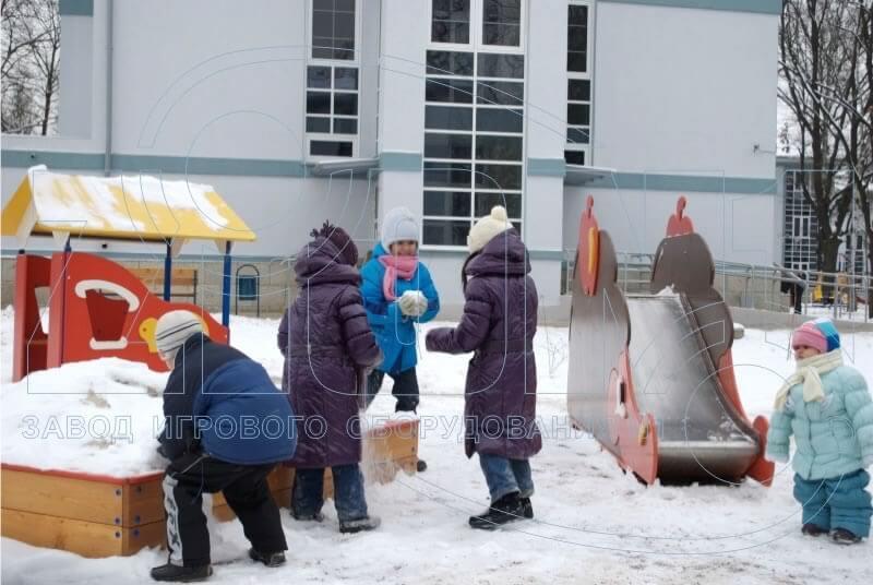 Фото детских площадок  — Лианозово — Ларина