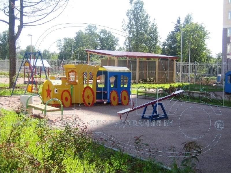 Фото детской площадки — Зеленоград 2030